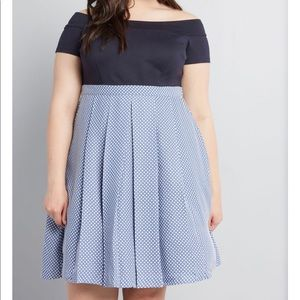 🆕ModCloth double the lovely a line NWOT